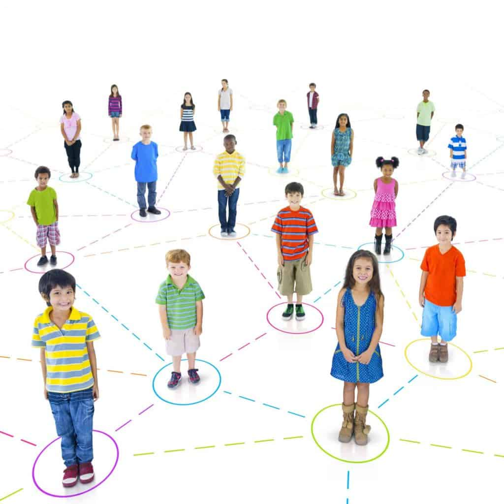 Networker measures children's social connection to classmates