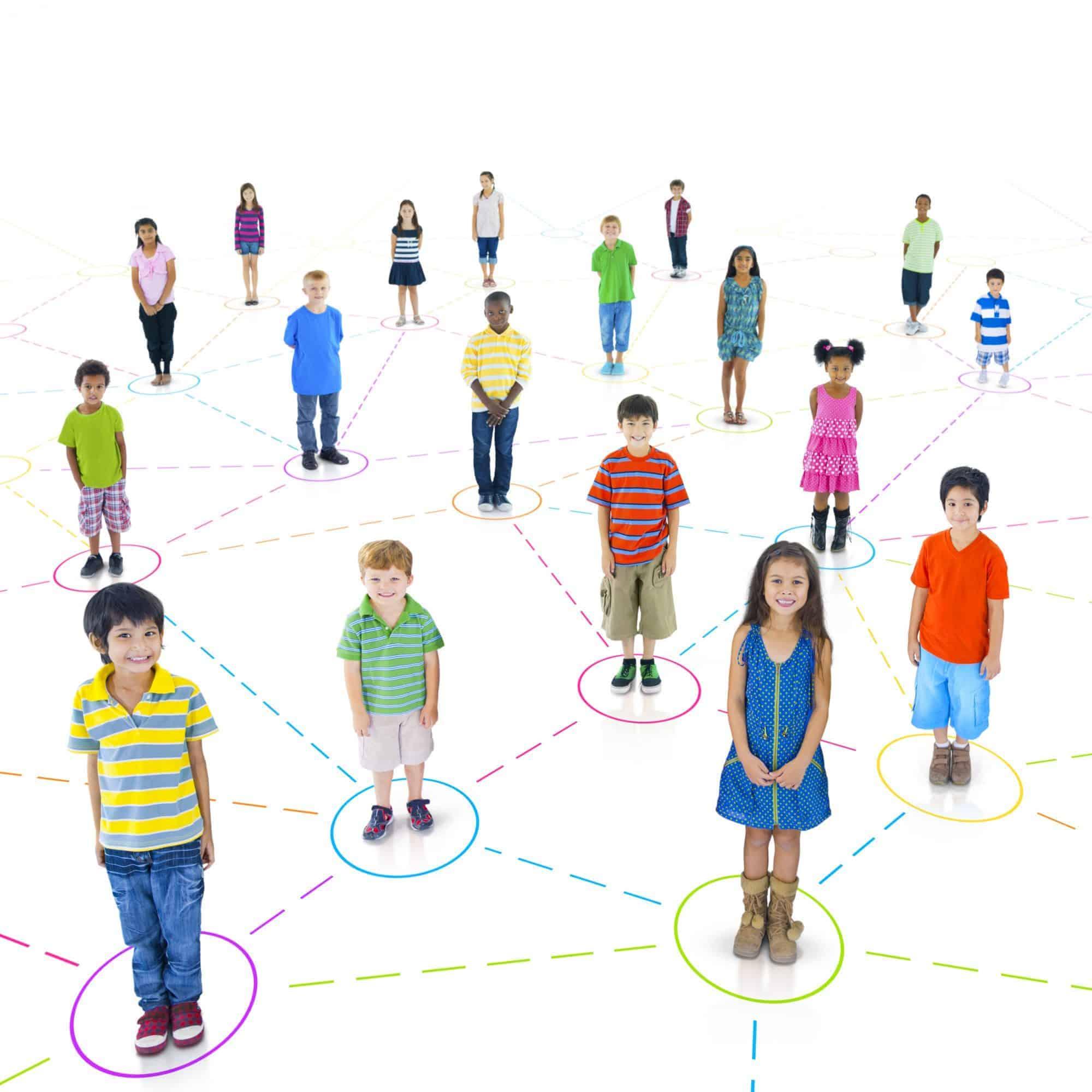 Networker measures children's social connection to classmates