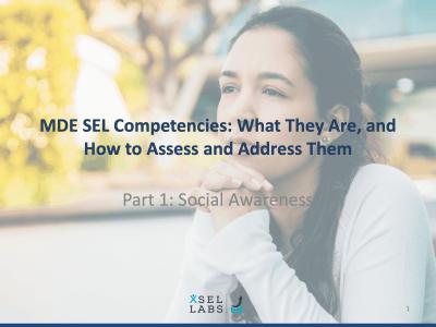 Webinar 3-9-20 SEL Competencies - Social Awareness